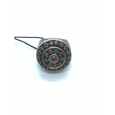Anello Ottomano in Argento - Made in Turchia