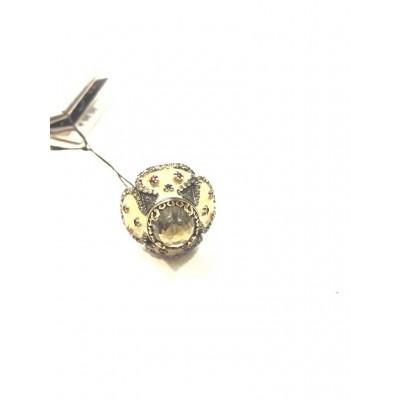 Anello in Argento 925 e Pietra Idrotermale