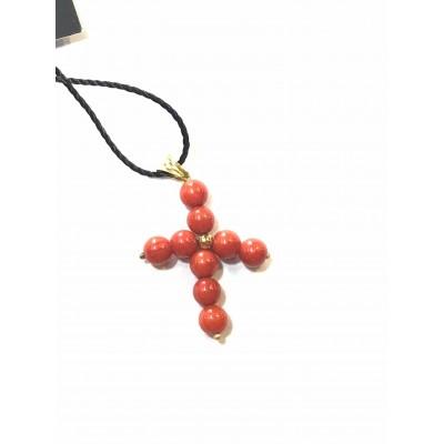 Croce Stilizzata in Oro 18kt