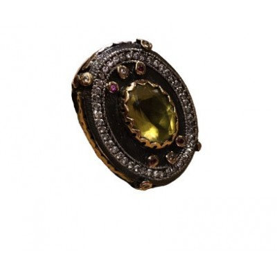 Anello UNISEX Ottomano in Argento - Made in Turchia