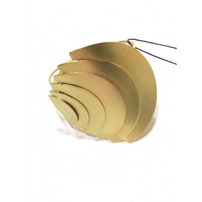Bracciale in Ottone Bagnato in Oro