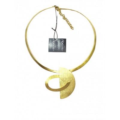 Collana in Ottone Bagnata in Oro